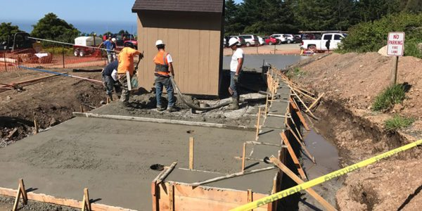 Point Reyes National Seashore, Accessible Improvements at Palomarin Vault Toilet - Martinez Construction Services
