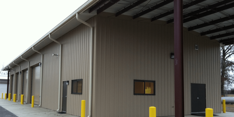 Reelfoot Maintenance Facility - Martinez Construction Company
